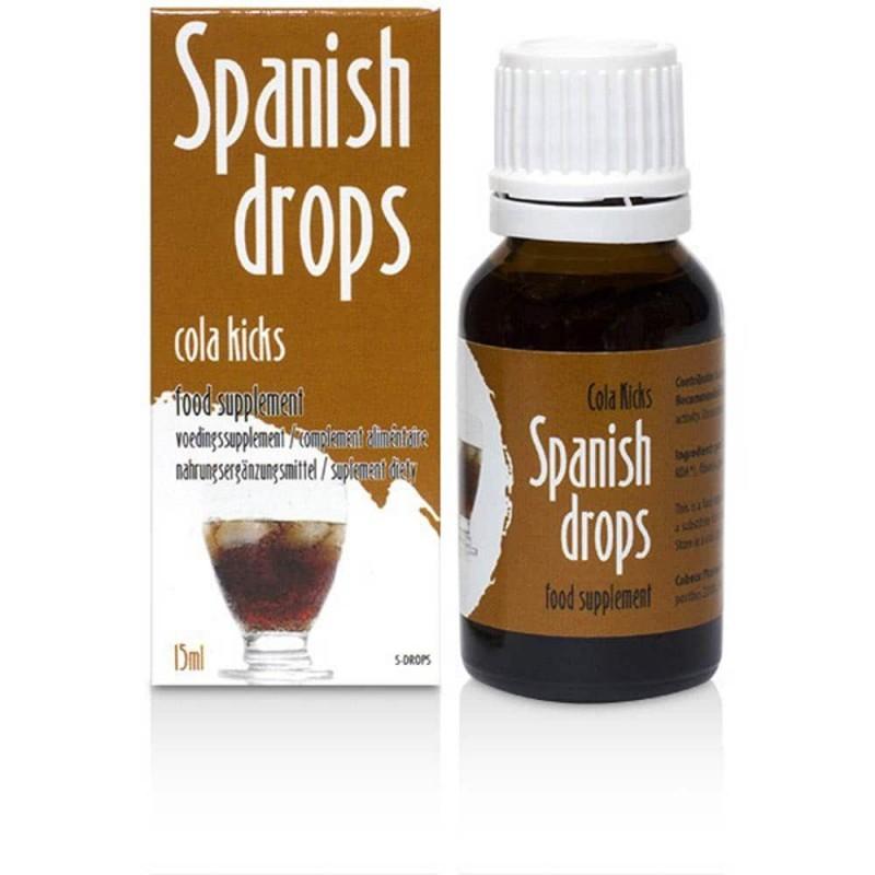 Picaturi spanionele afrodisiace Spanish drops Cola - 15 ml