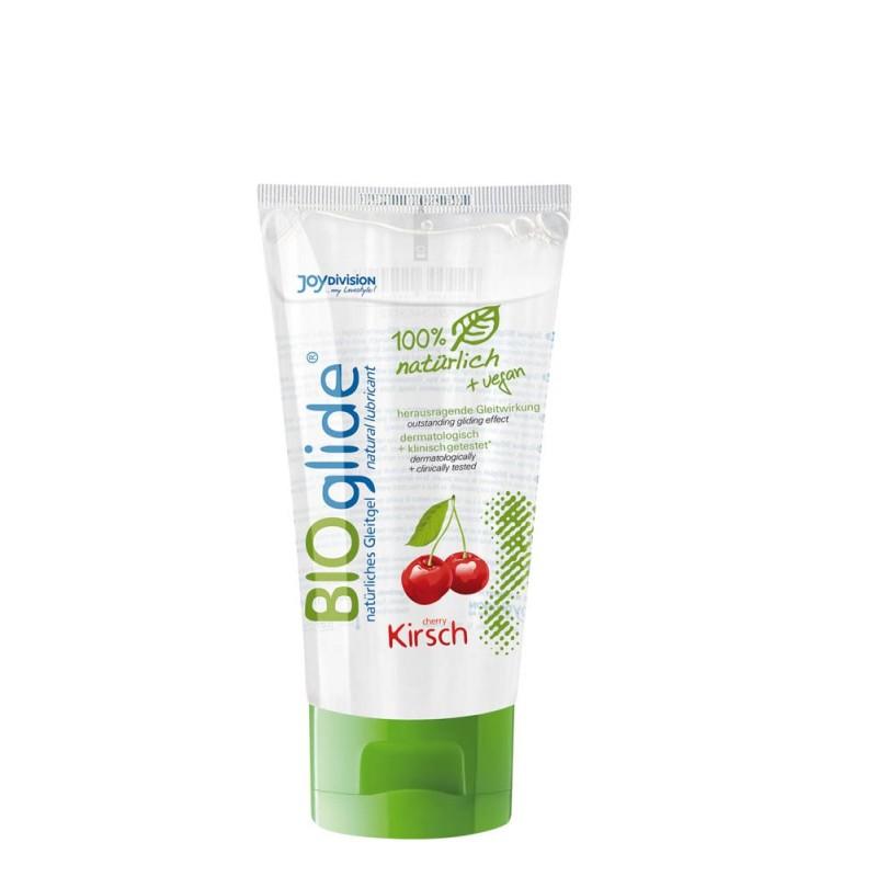 BIOglide Kirsch lubrifiant natural cu aroma de cires, 80 ml