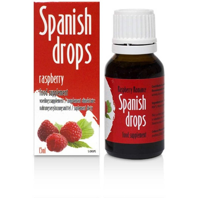 Picături spaniole - Raspberry Romance - 15 ml
