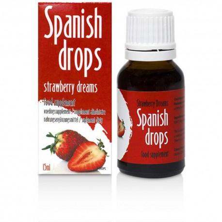 Picături spaniole cu aroma de Căpșuni - 15 ml