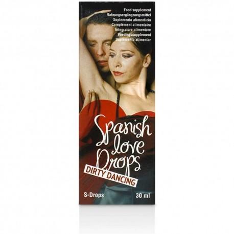 Spanish Love Drops Dirty Dancing - 30 ml picaturi afrodisiace